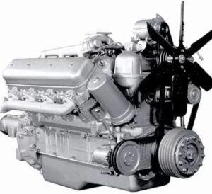 Двигатель для скрепера самоходного МоАЗ