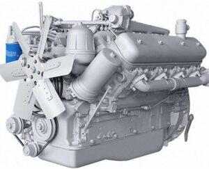 Двигатель для самосвала шахтного МоАЗ