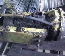 Коробки передач (кпп) скрепера самоходного МоАЗ
