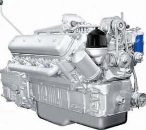 Двигатель для катка самоходного МоАЗ