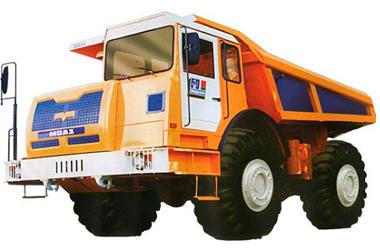 Запчасти на автомобиль-самосвал МоАЗ-750511 (75054)