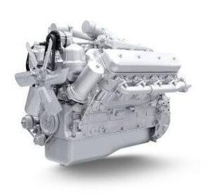 Двигатель для автомобиля-самосвала МоАЗ