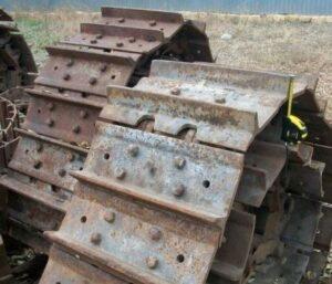 Ходовые части шасси/ ходовые механизмы автобульдозера МоАЗ