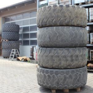Колеса - шины - диски на погрузчики Hanomag