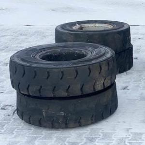 Колеса - шины - диски на погрузчики Liebherr