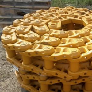 Ходовые части и цепные механизмы бульдозера LiuGong