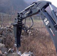 Навесное оборудование на экскаватор Luneng