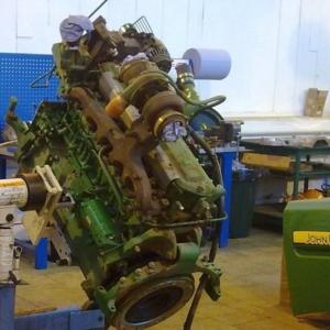 Двигатели для автогрейдеров John Deere