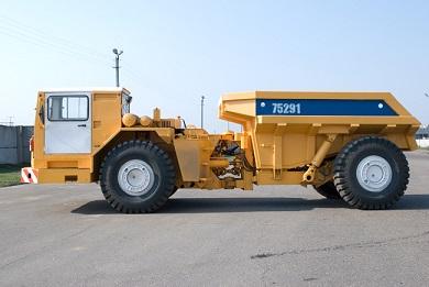 Самосвал шахтный МоАЗ-7529
