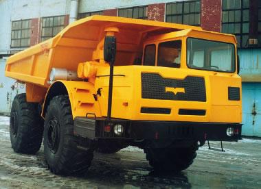 Запчасти на автомобиль-самосвал МоАЗ-7503 (75032)