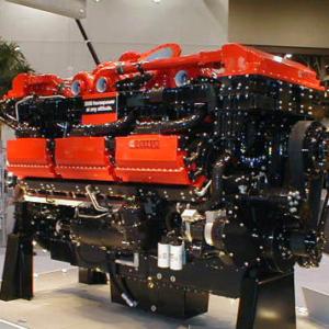 Двигатели на БелАЗ