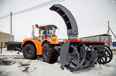 Фрезерно-роторные снегоочистители